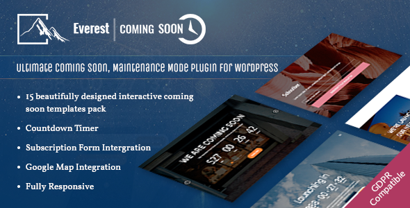Best Coming Soon & Maintenance Mode Plugin for WordPress: Everest Coming Soon