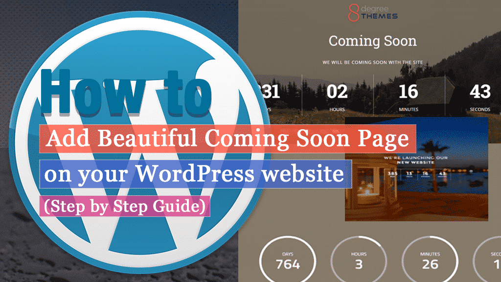 How to set up an attractive maintenance mode page on your WordPress website?