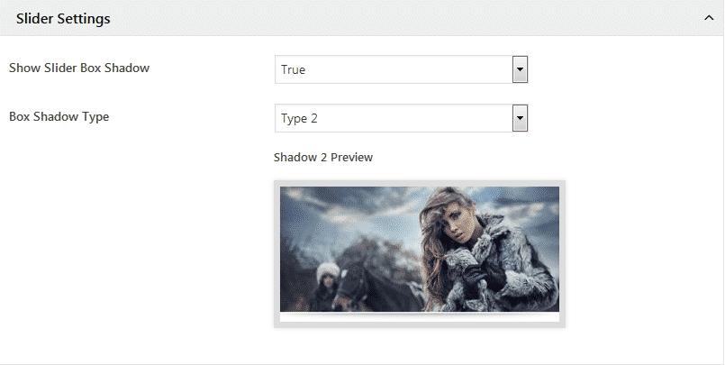 WP1 Slider Pro: Slider Settings