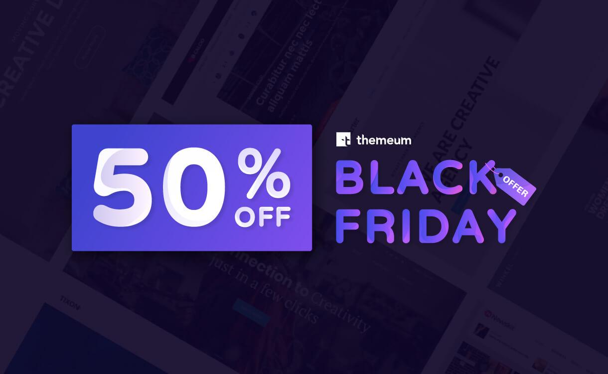 themeum black friday offer