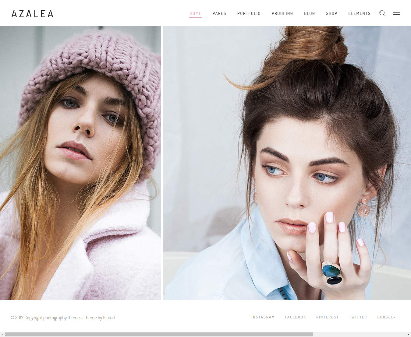 Azalea - Best Premium Fashion WordPress Themes