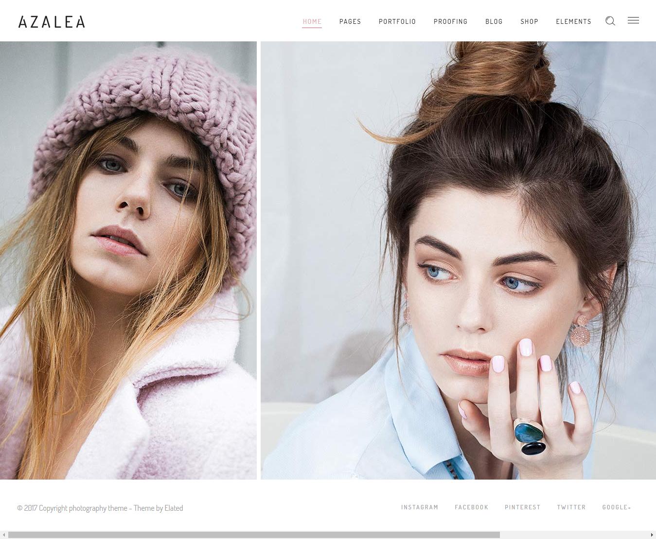 Azalea - Best Premium Fashion WordPress Themes