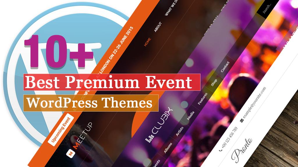 10+ Best Premium Event WordPress Themes