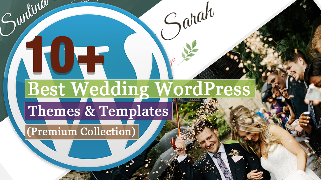 Best Premium Wedding WordPress Themes and Templates