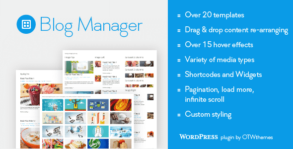 Best WordPress Blog Manager Plugin: Blog Manager