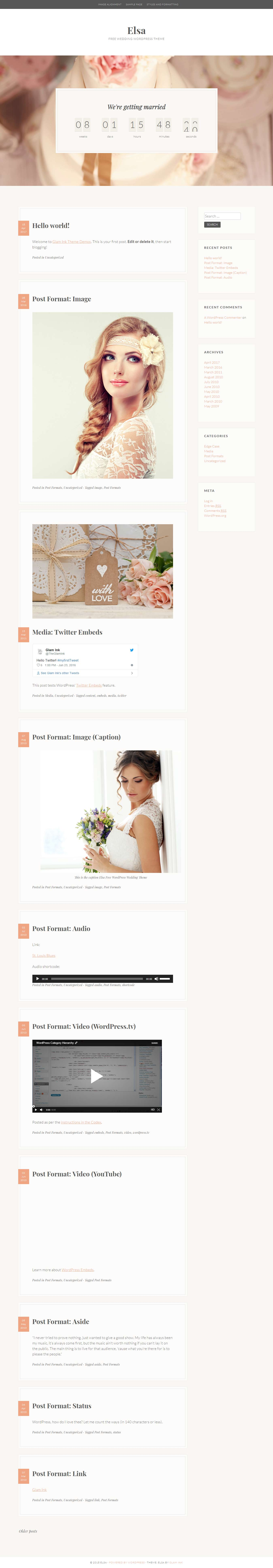 Elsa - Best Free Event WordPress Theme