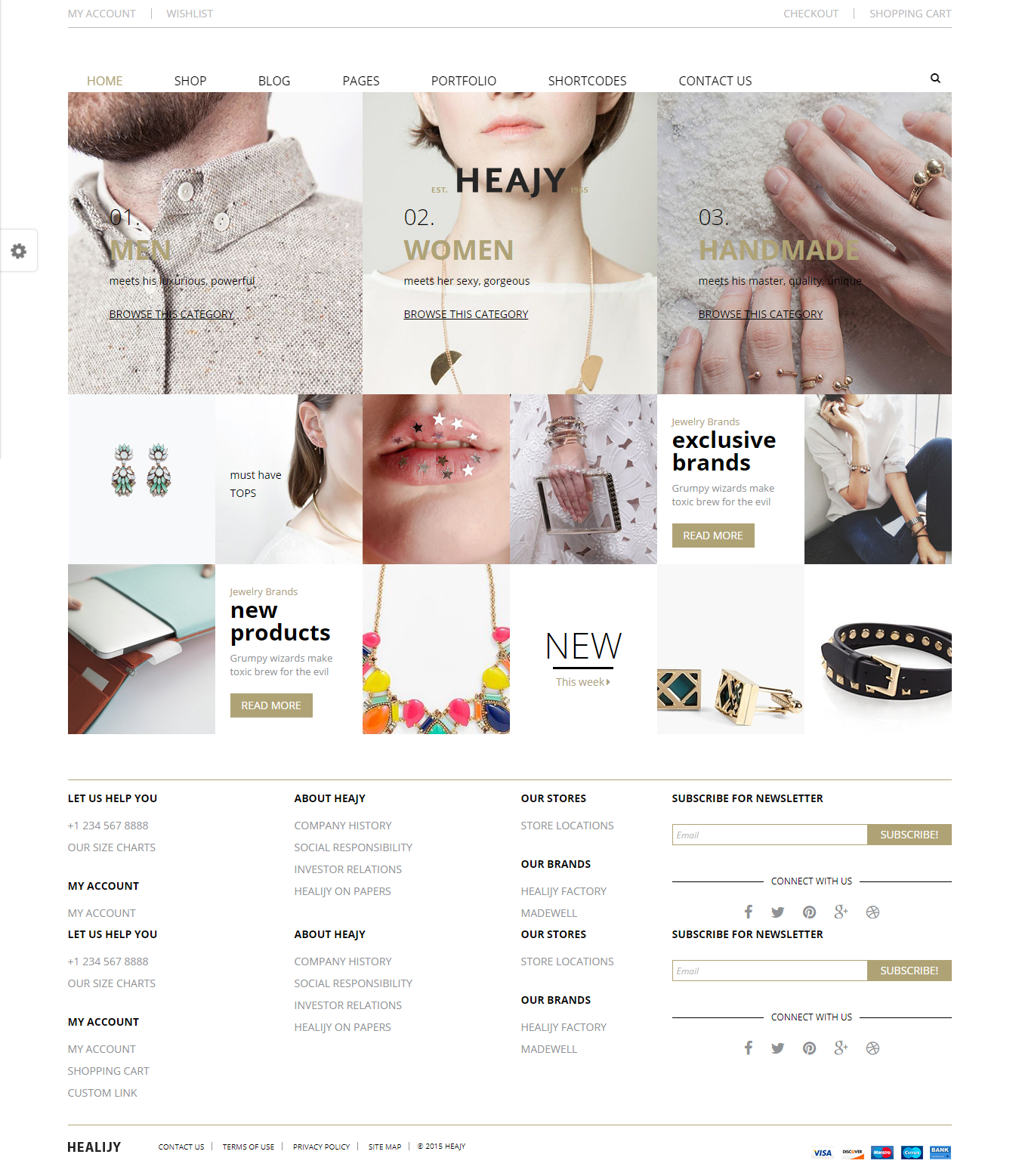 Heajy - Best Premium Fashion WordPress Themes