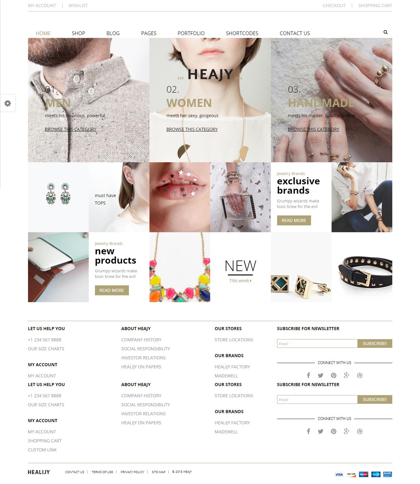 Heajy - Best Premium Fashion WordPress Themes