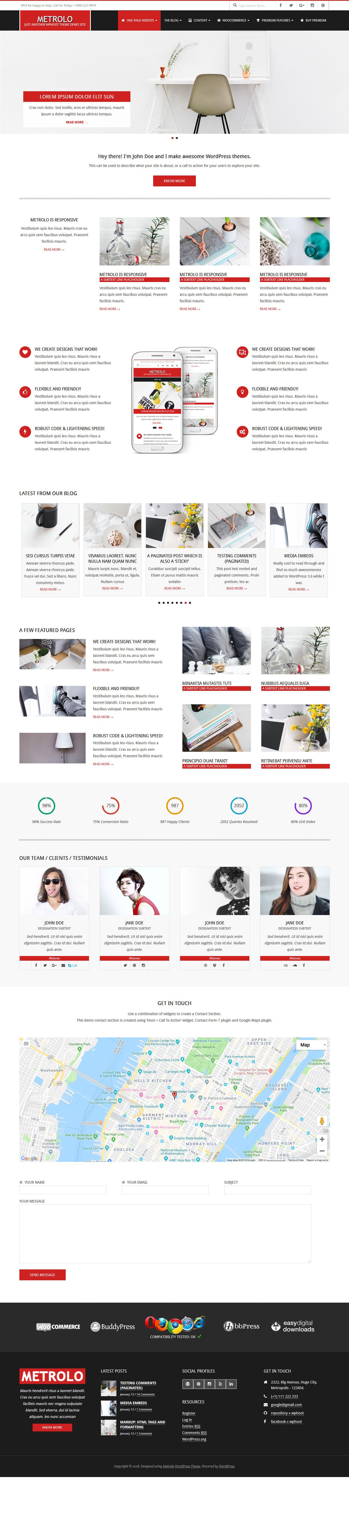 Metrolo - Best Free Event WordPress Theme