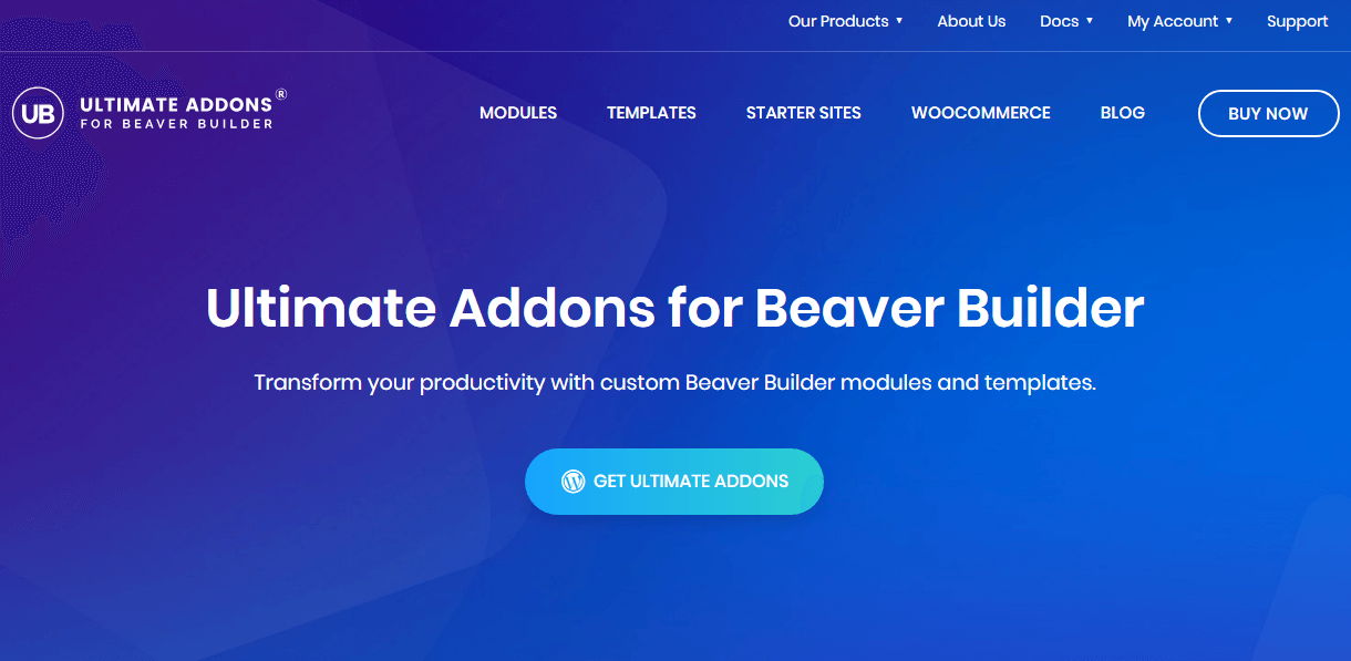 ultimate adds on beaver builder