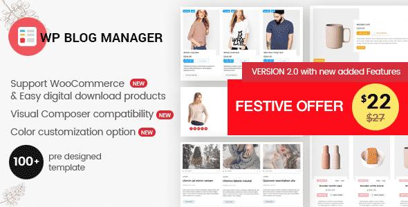 Best WordPress Blog Manager Plugin: WP Blog Manager