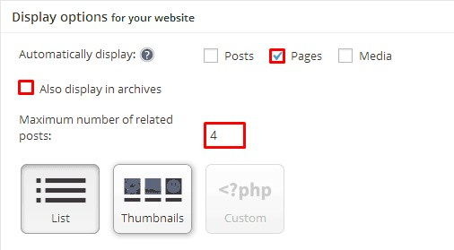 Show Related Pages in WordPress.