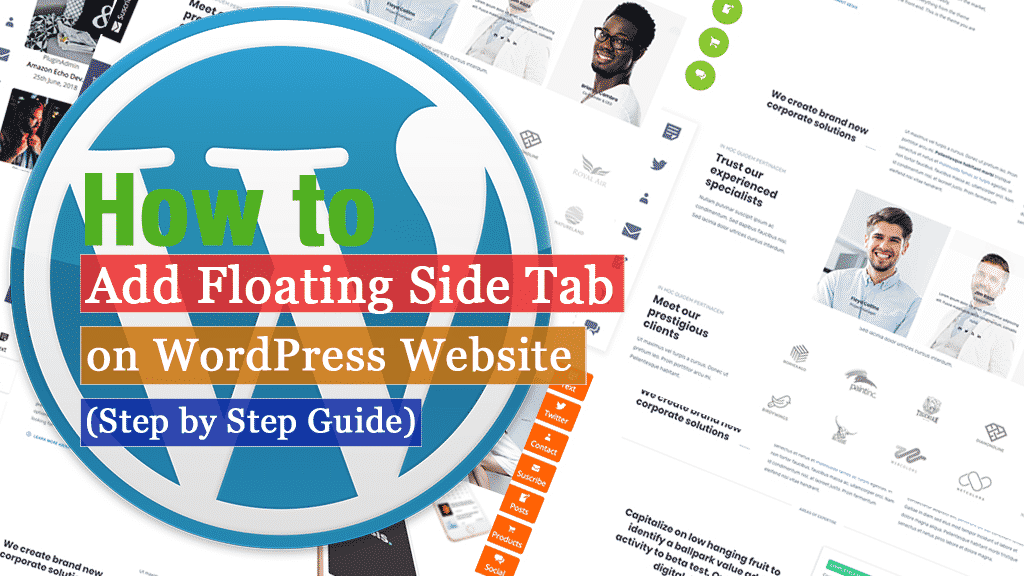 How to Add a Floating Side Tab on WordPress Website? (Step by Step Guide)