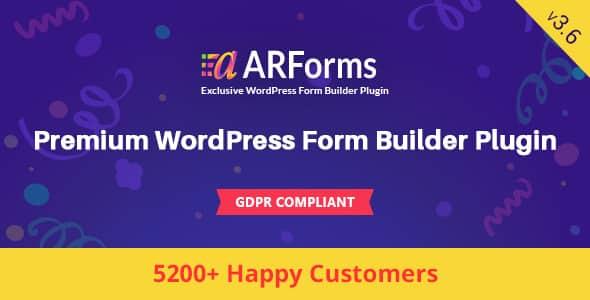 Best WordPress Form Builder Plugin: ARForms