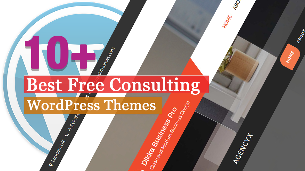 10+ Best Free Consulting WordPress Themes