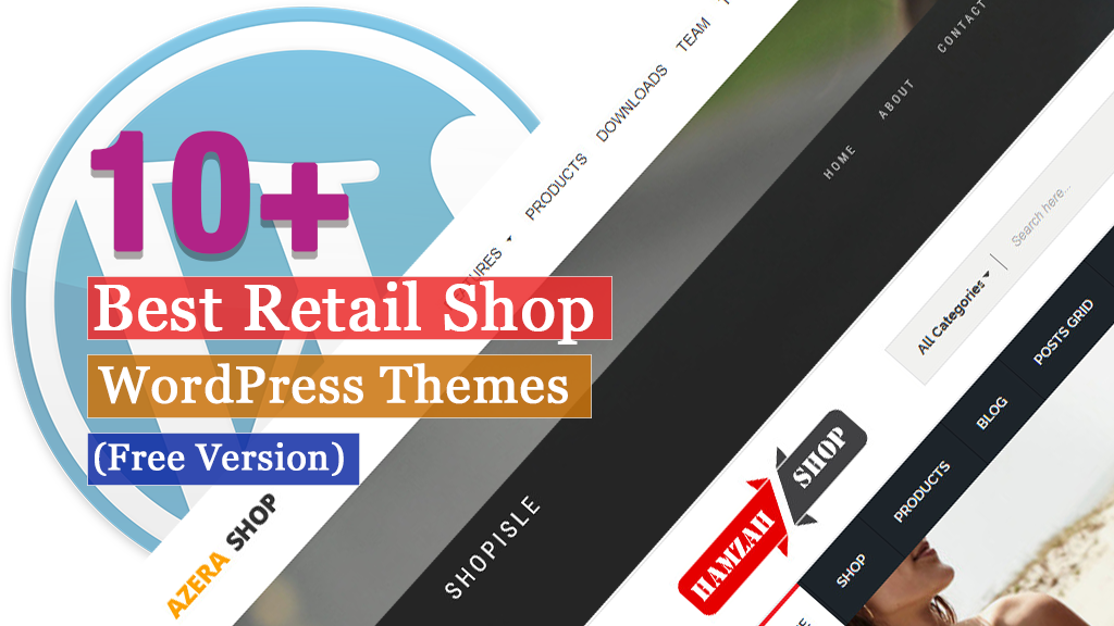 10+ Best Free Retail Shop WordPress Themes