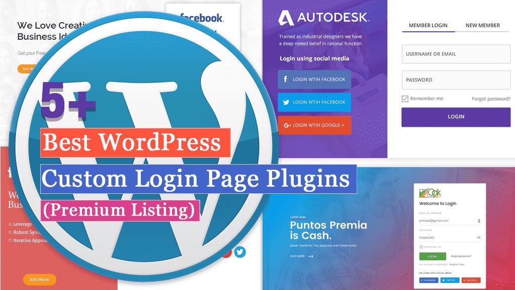 Best WordPress Custom Login Page Plugins