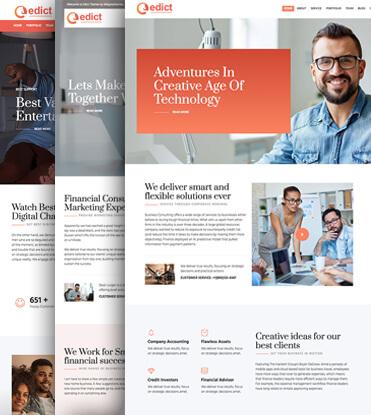 Edict - Eight Degree Innovative Corporate Theme