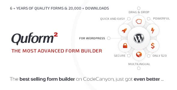 Best WordPress Form Builder Plugin: Quform