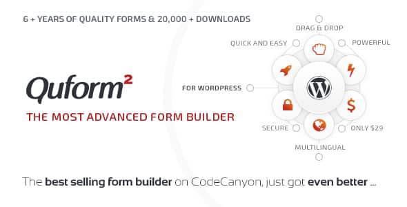 Best WordPress Form Builder Plugin: Quform