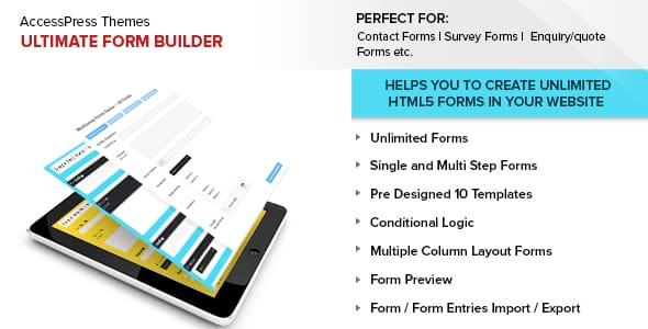 Best WordPress Form Builder Plugin: Ultimate Form Builder