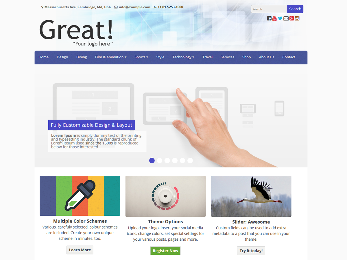 great best free church wordpress theme - 10+ Best Free WordPress Church Themes