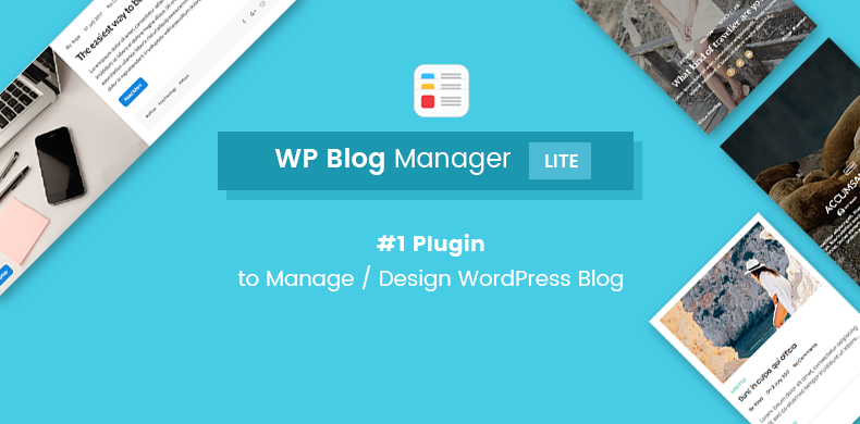 WP Blog Manager Lite