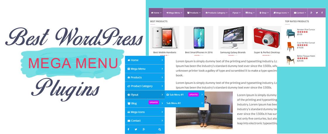 Free WordPress Mega Menu Plugins