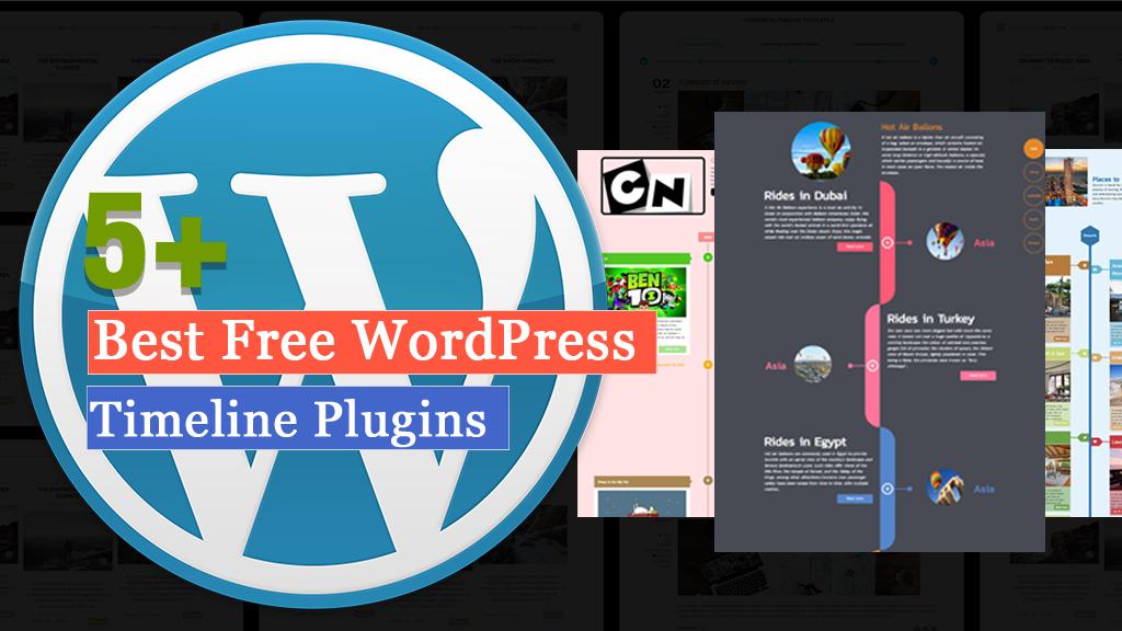 Free WordPress Timeline Plugins