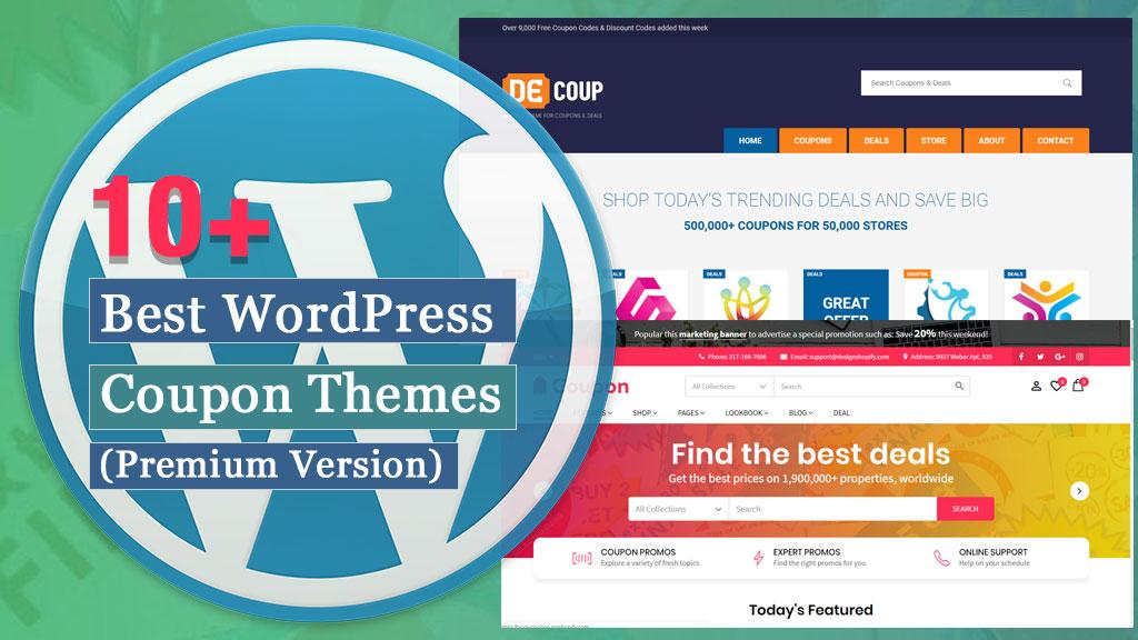 10+ Best Premium WordPress Coupon Themes