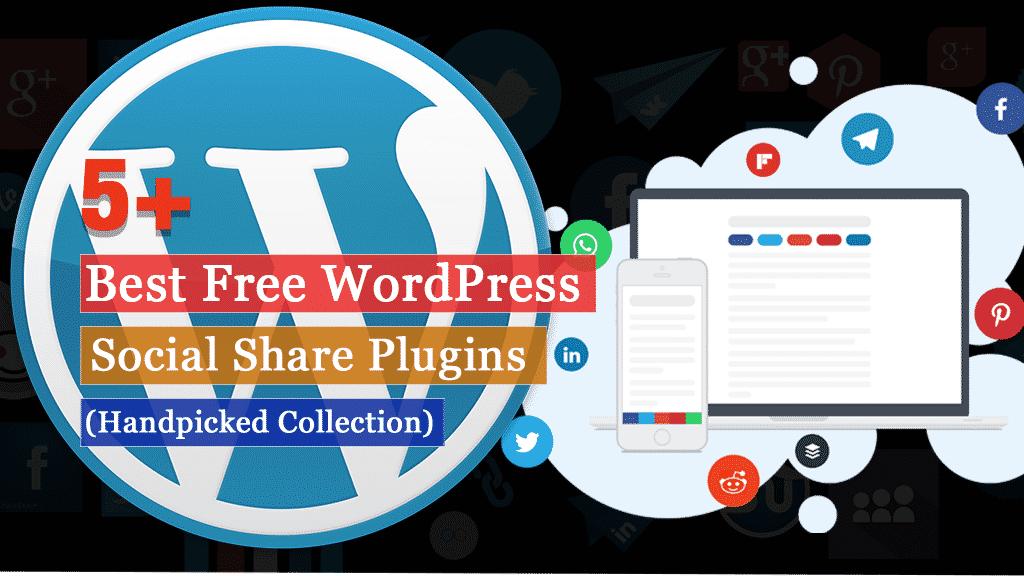 Free WordPress Social Share Plugins