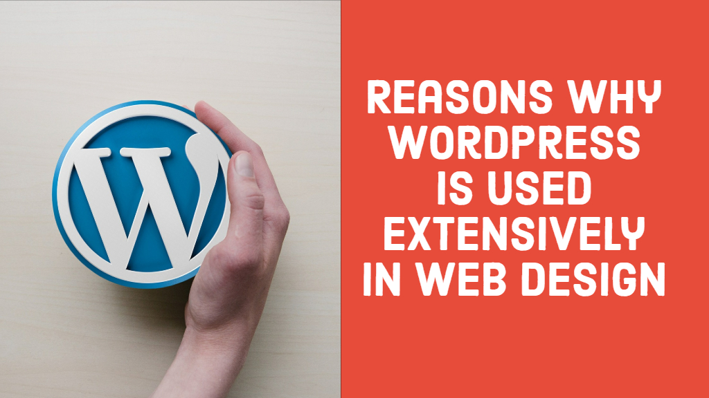 Reasons why WordPress is used extensively in Web Design