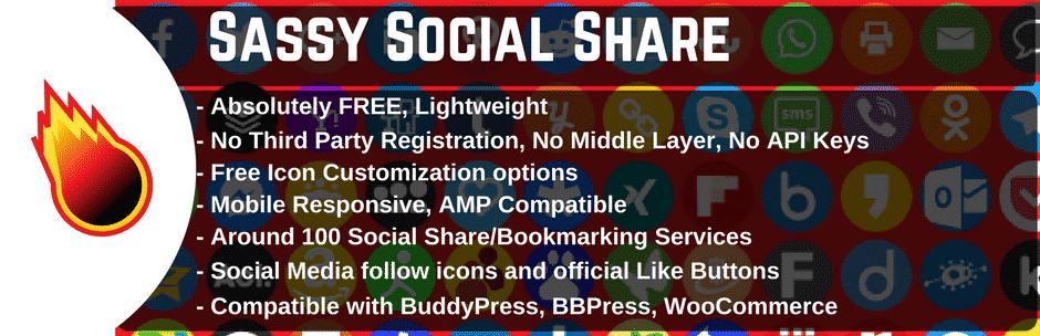 Sassy Social Share