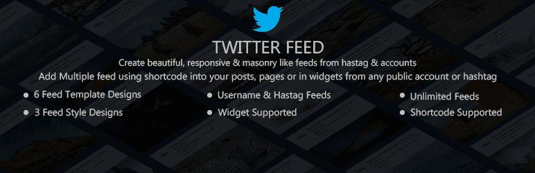 Best Free WordPress Twitter Feed Plugins: Arrow Twitter Feed