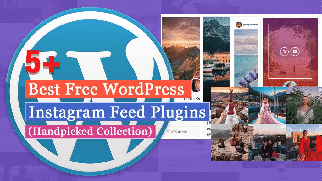 Free WordPress Instagram Feed Plugins