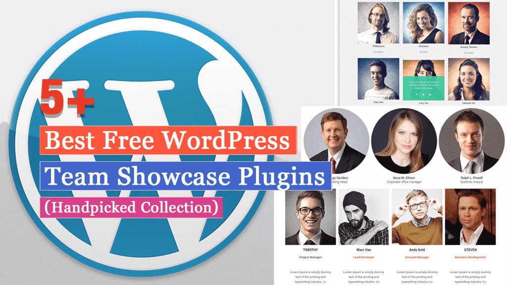Free WordPress Team Showcase Plugins