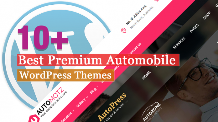 10+ Best Premium Automobile WordPress Themes