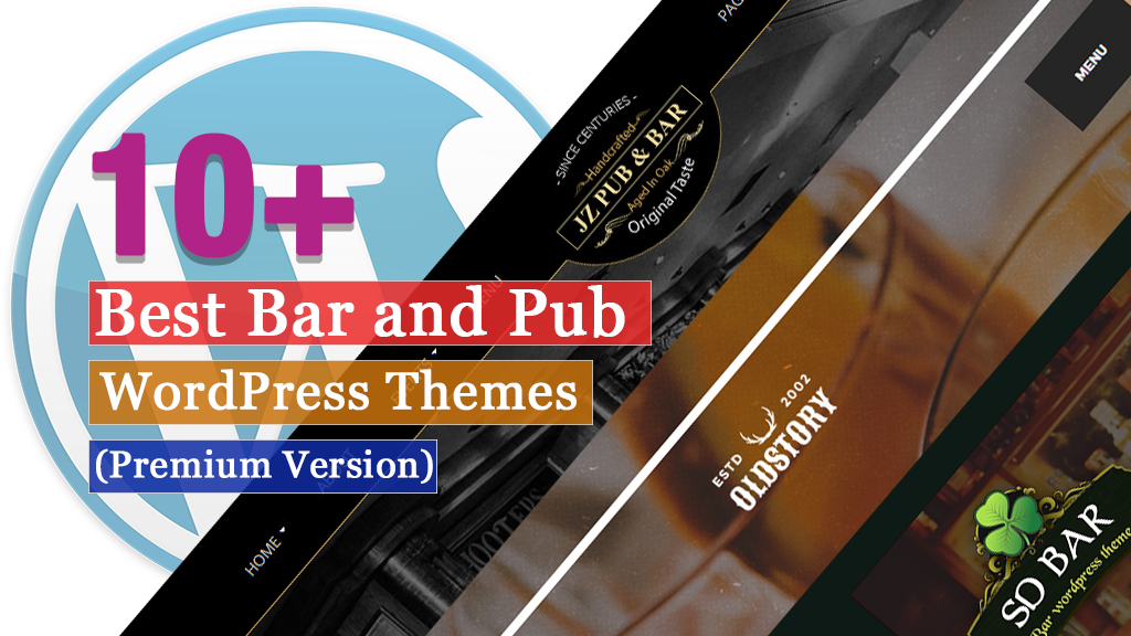 10+ Best Premium Bar and Pub WordPress Themes