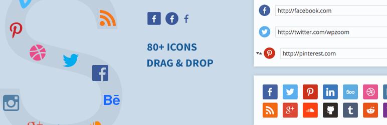 Social Icons Widgets