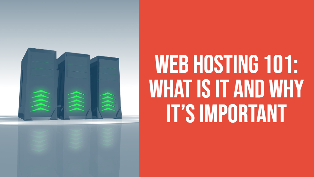web hosting 101 what is it and why is it important
