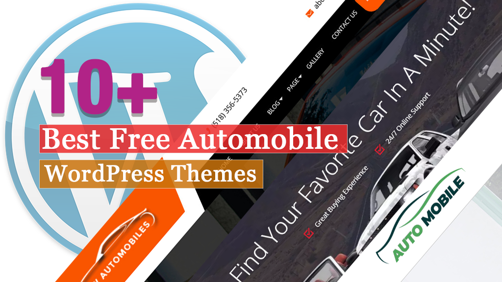 10+ Best Free Automobile WordPress Themes