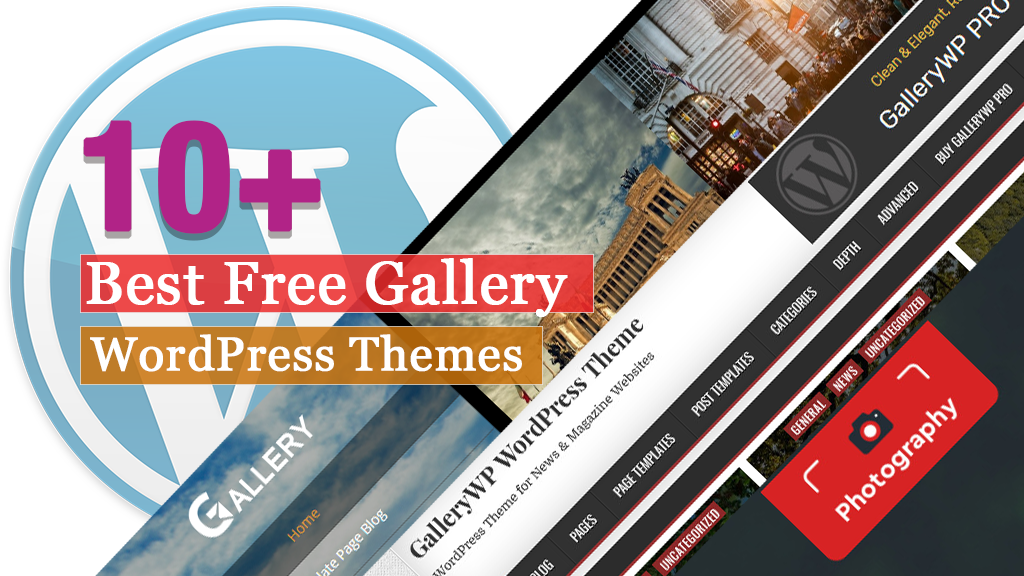 10+ Best Free Gallery WordPress Themes