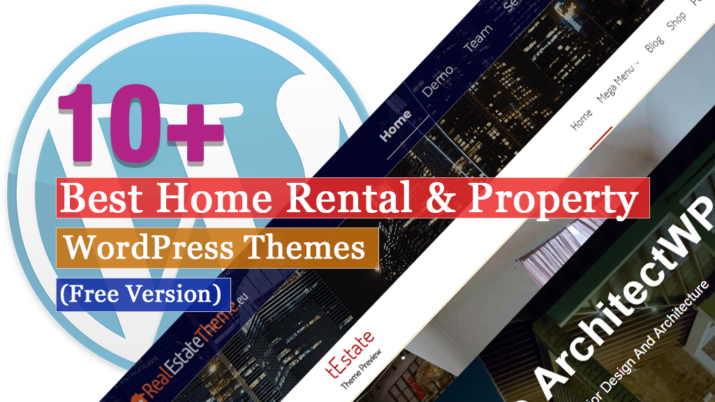 10+ Best Free Home Rental and Property WordPress Themes