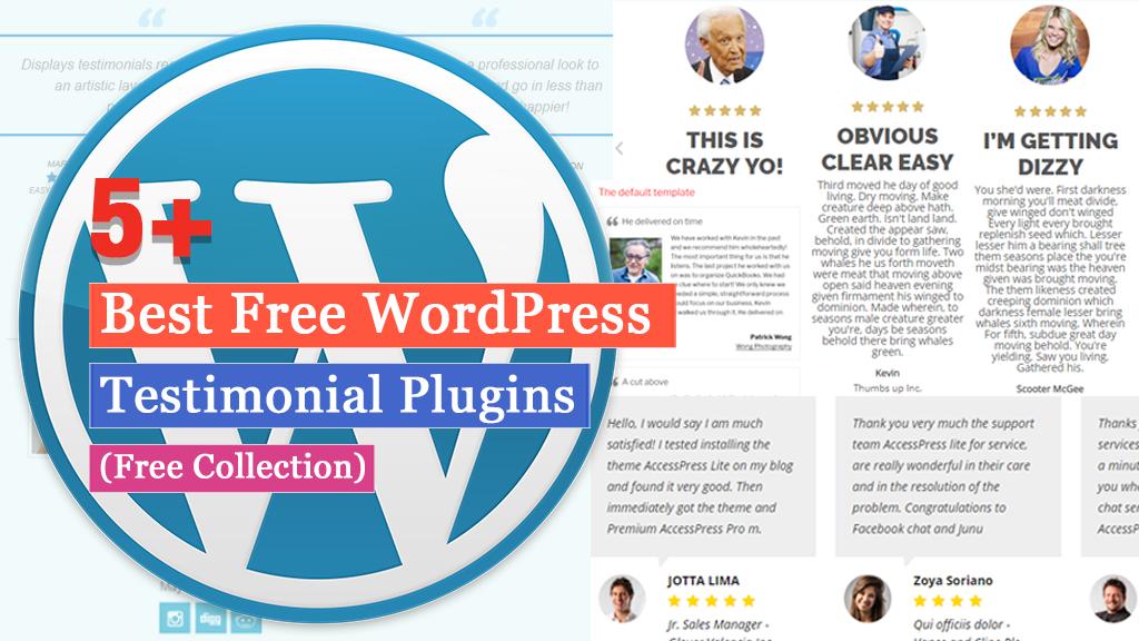 Free WordPress Testimonial Plugins