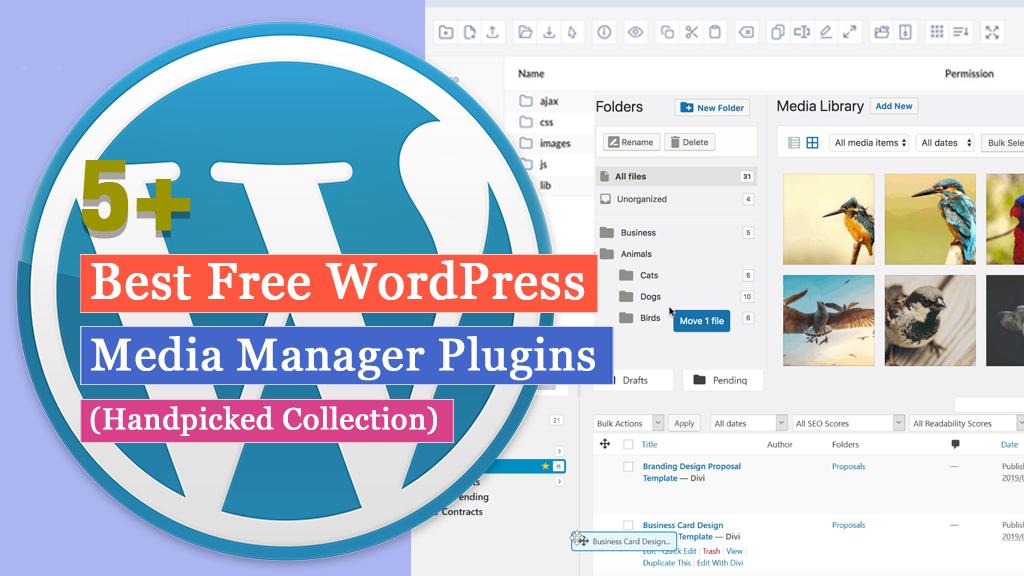 Free WordPress Media Manager Plugins
