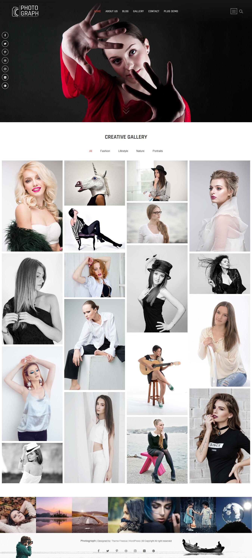 Photograph - Best Free Gallery WordPress Theme