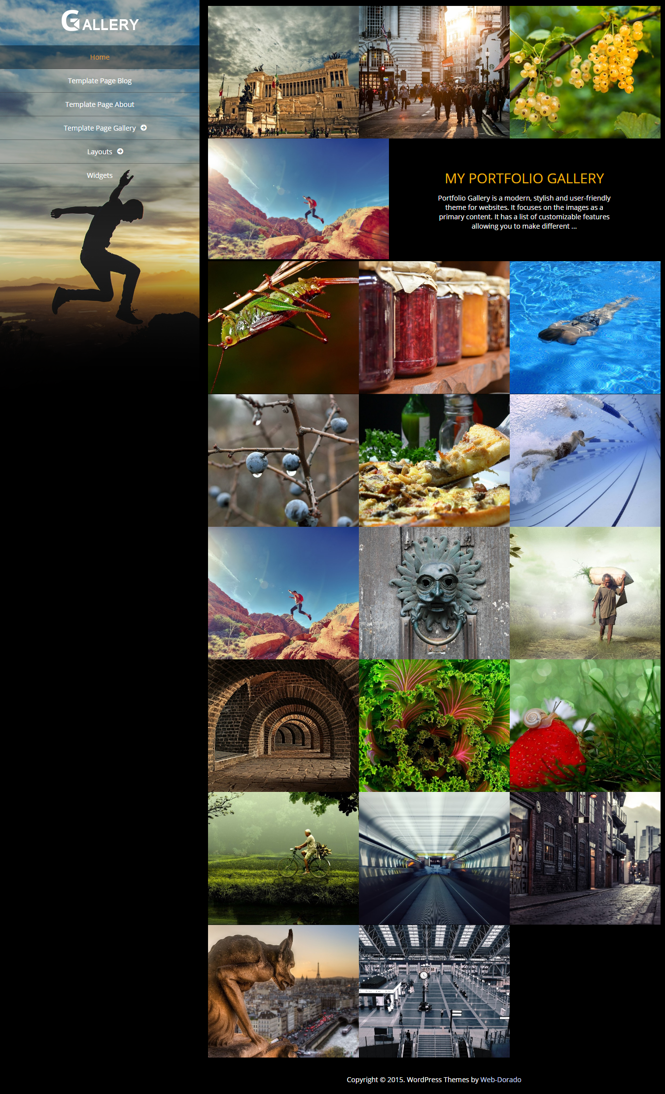 Portfolio Gallery - Best Free Gallery WordPress Theme