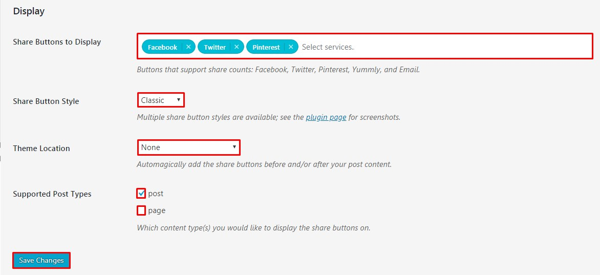 "Add Pinterest ""Pin It"" Button in WordPress."