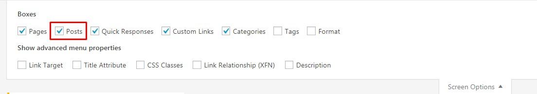 Add Specific Post to WordPress Navigation Menu.