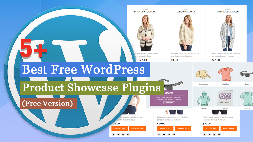 Free WordPress Product Showcase Plugins